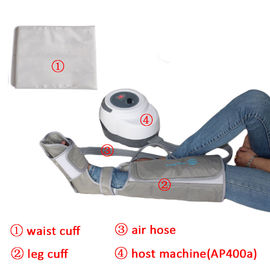 China Non - Woven Air Compression Leg Massager For Foot Calf And Thigh Circulation distributor